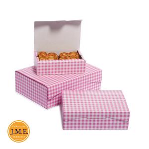 Caja pasteles, pastas y galletas